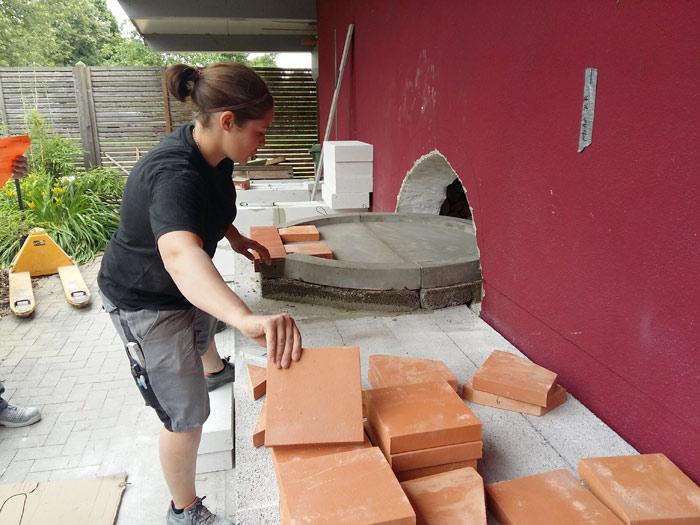 Gemauerte Sommerküchen : Sommerküche schulz kachelöfen in rastatt rauental karlsruhe
